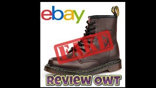 Review Owt FAKE Dr Martins Off Ebay £23 Posted