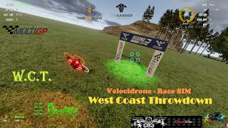 West Coast Throwdown On Velocidrone Race Drone Simulator
