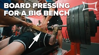 CHEATING WITH PURPOSE? Utilizing Board Presses For A Bigger Bench | Super Training Gym