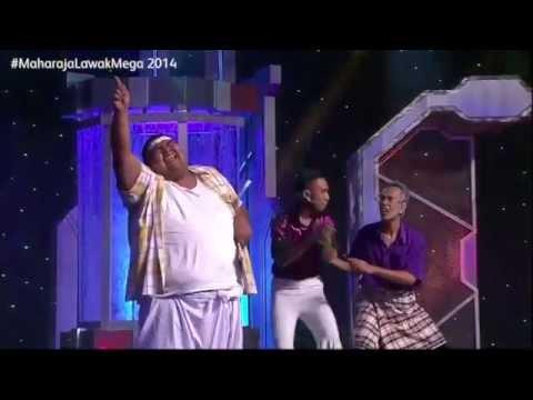 Maharaja Lawak Mega 2014 - Lagu apa Bocey mainkan?