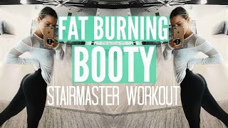 FAT BURNING BOOTY WORKOUT | My 2Omin Stairmaster Routine