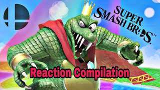 Super Smash Bros Ultimate Direct 8.8.2018 - King K Rool - Reaction Compilation