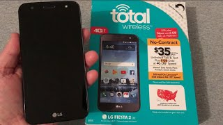 LG Fiesta 2 LTE Unboxing & First Look (Total Wireless)