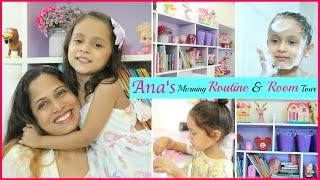 Anaya's MORNING Routine & ROOM Tour | #Kids #Fun #Vlog #DIML #ShrutiArjunAnand