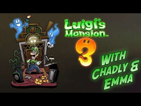 Luigi's Mansion 3 [Ep. 2] - 1st Time Playthrough with Emma!!