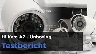 HiKam A7 im Test, Teil 1 - Unboxing, Elemente und Montage