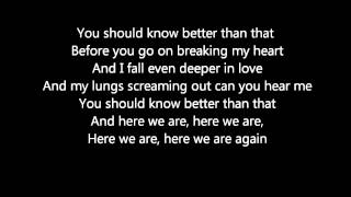 You Should Know Better-Andy Grammer