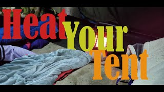 Stay Warm in your Tent (Winter Camping Tips)