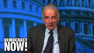 """Ralph Nader Denounces Trump Budget as Corporatist, Militarist & Racist: """"The Mask is Off"""""""