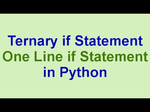 mp4 Python One Line If, download Python One Line If video klip Python One Line If