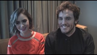 Lily Collins And Sam Claflin Talk Love, Rosie