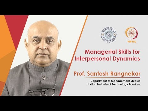 Promo: Managerial Skills for Interpersonal Dynamics