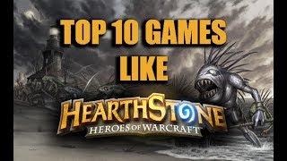 Top 10 card games like Hearthstone