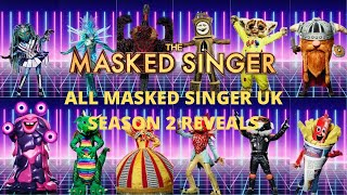 All Masked Singer UK Reveals (Season 2)