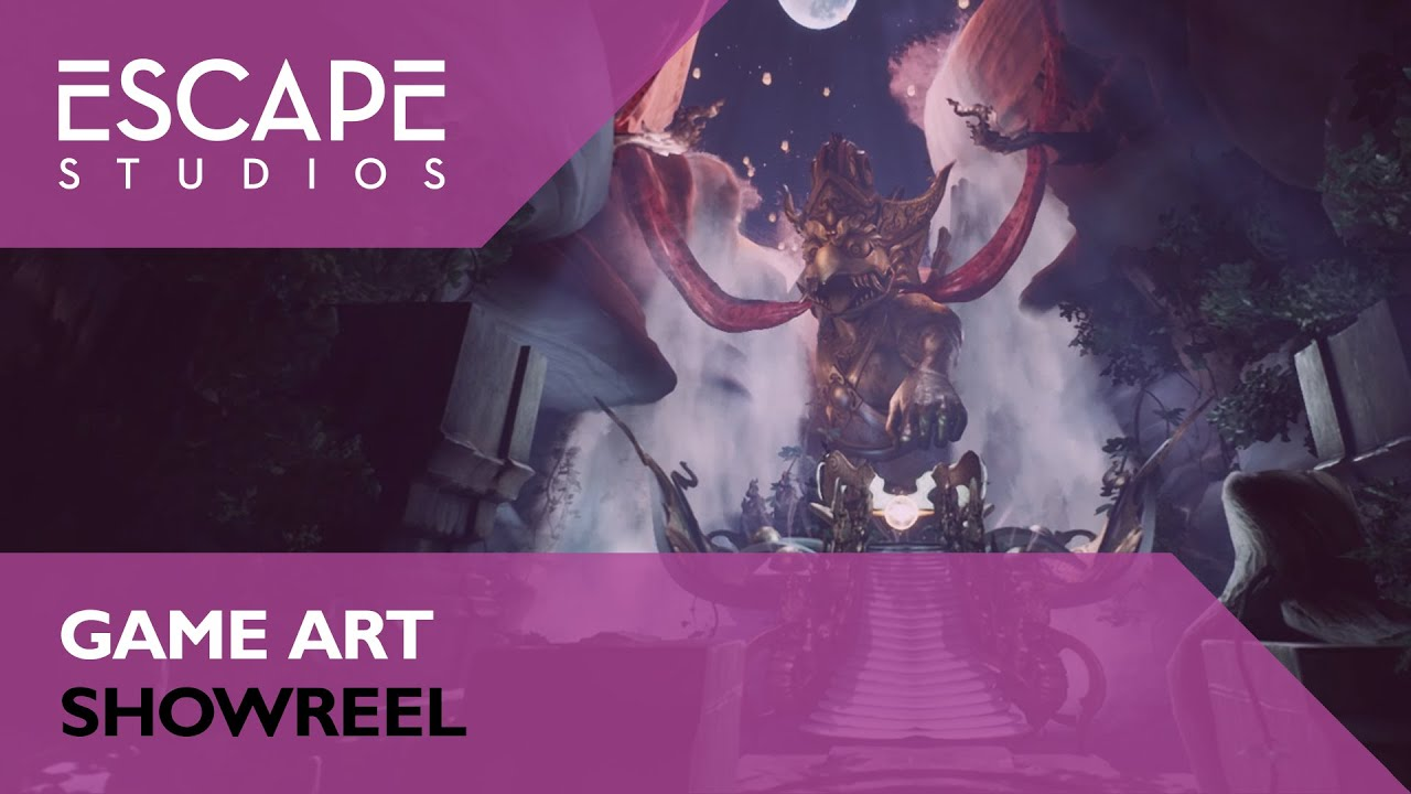Escape Studios Game Art Showreel