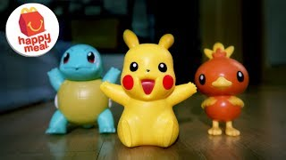 2018 Pokemon McDonald's Happy Meal Toys Review (PART 1) - November | Unbox Everything Philippines