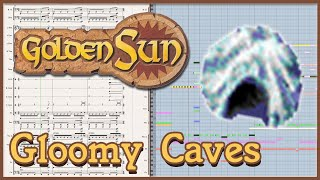 "New Arrangement: ""Gloomy Caves"" from Golden Sun (2001)"