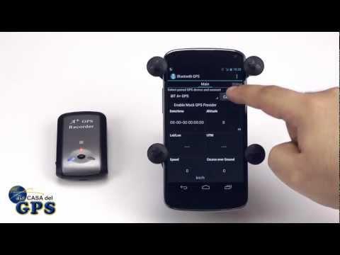 Cómo enlazar un GPS Bluetooth con un dispositivo Android
