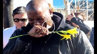 Paul Walker Funeral   Tyrese Gibson Cries And Vin Diesel