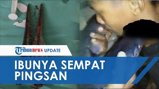 Ibu Idul Pingsan saat Lihat Kondisi Leher Putranya yang Tertusuk Ikan Marlin
