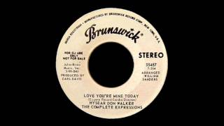 HYSEAR DON WALKER/THE COMPLETE EXPRESSIONS Love You're Mine Today