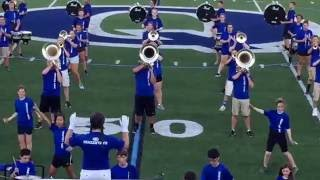 "Quakertown Panther Marching Band ""Buck Jump"" 8.26.16"