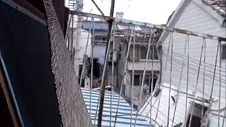 1995.1.20阪神大震災山陽西代駅、高速長田駅近辺