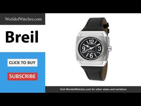 BREIL Women's Gear White Swarovski Crystal TW0696