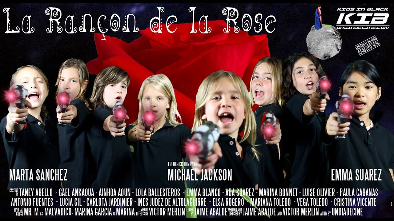 KIDS IN BLACK. La Rançon de la Rose
