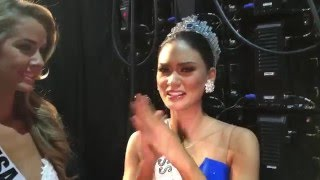 A message from Miss Universe 2015, Pia Alonzo Wurtzbach