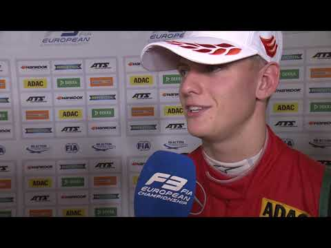 #F3 - Race of Hockenheim - Mick Schumacher's interview after Race 2