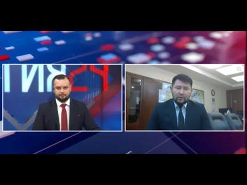 Евгений Григорьев принял участие в программе «Актуальное интервью» на телеканале «Якутия 24»