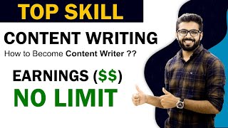 Content Writing | Earnings $$ - NO LIMIT | How to be a Content Writer | TOP Skill to learn in 2020