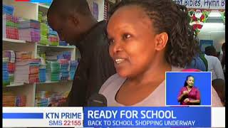 Parents and guardians begin the back to school rush