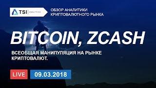 Bitcoin, ZCash. Всеобщая манипуляция на рынке криптовалют | Прогноз цены на Биткоин и Зикэш