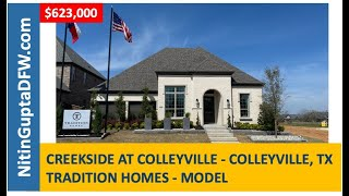 Builder spotlight: New construction homes in Colleyville by Tradition Homes - Creekside At Colleyvil