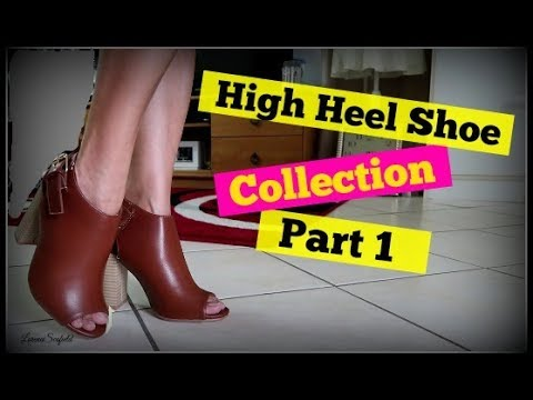 High Heel Shoe Collection – Part 1