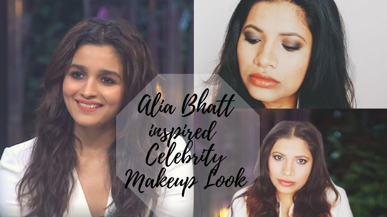 Alia Bhatt Koffee with Karan Celebrity Makeup Tutorial Episode 7