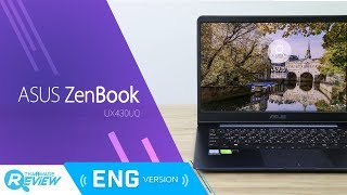 ASUS Zenbook UX430UQ Review: New Ultrabook from ASUS