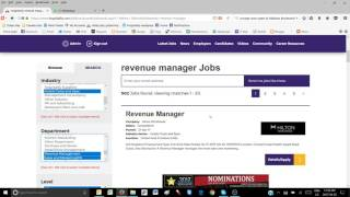 Job Searching Tips on Hozpitality How to find the right job on