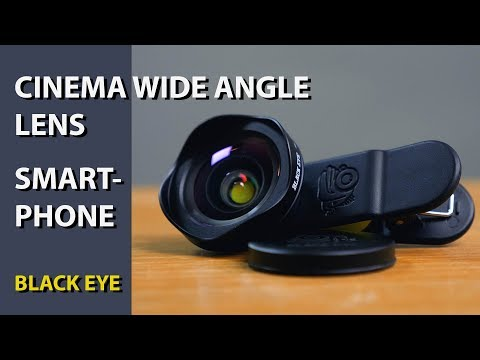 Black Eye Cinema Wide Smartphone Lens Review