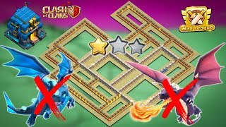 NEW Town Hall 12 (TH12) Anti 2 Star War Base 2019 with Proof