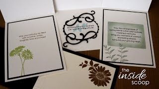 The Inside Scoop- Decorating the inside of your cards