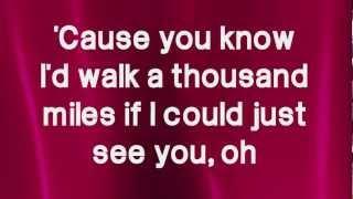 A Thousand Miles - Victoria Justice (Lyrics) High Quality Mp3