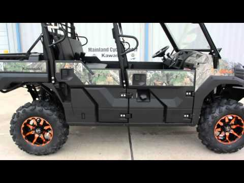 2016 Kawasaki Mule Pro-FXT EPS Camo in La Marque, Texas - Video 1