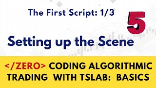Tutorial # 6  The First Script  2/3  Moving Average