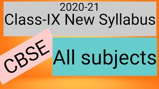 CBSE Class IX syllabus reduced Deleted portion For class 9 - Download this Video in MP3, M4A, WEBM, MP4, 3GP