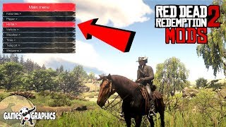 Customize your own Trainer - RDR2 PC MODS