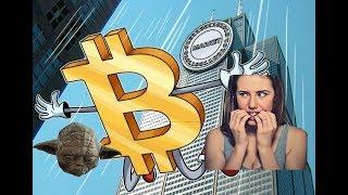 Bitcoin падение! Биткоин летит вниз! Причины и прогноз курса биткоина!