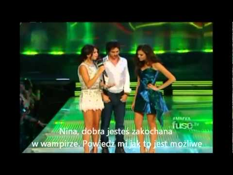 MMVA 2011 Much Music Video Awards Nina Dobrev and Ian Somerhalder Napisy PL